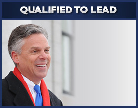 Jon Huntsman's record